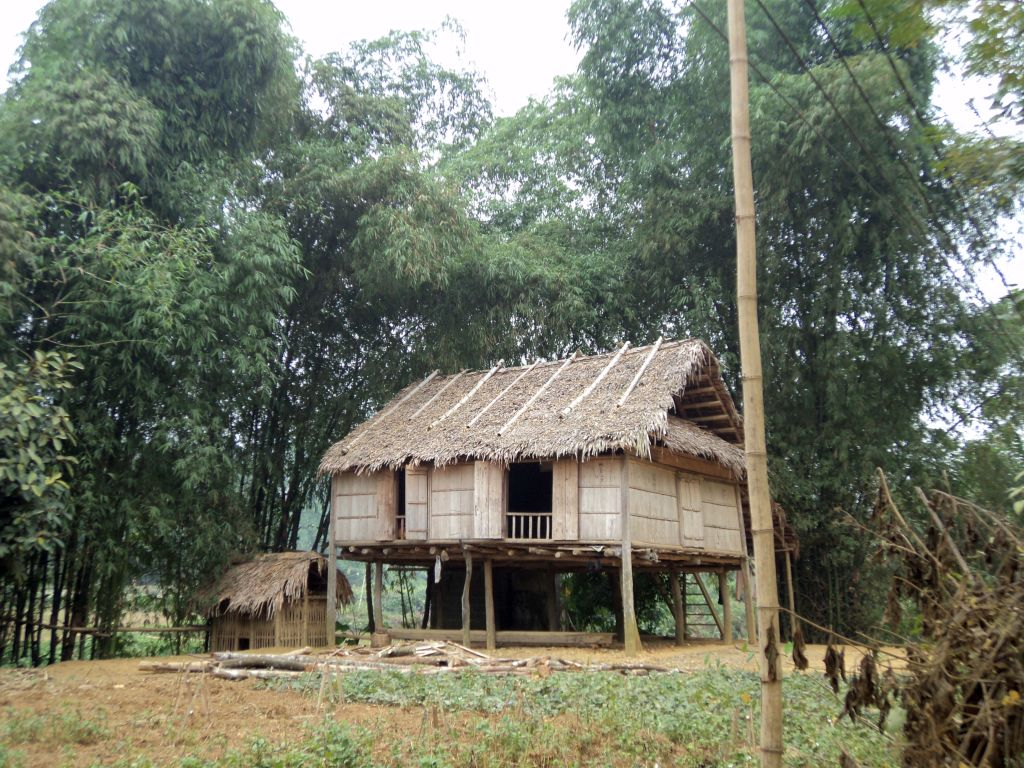 Pile house in Vietnam