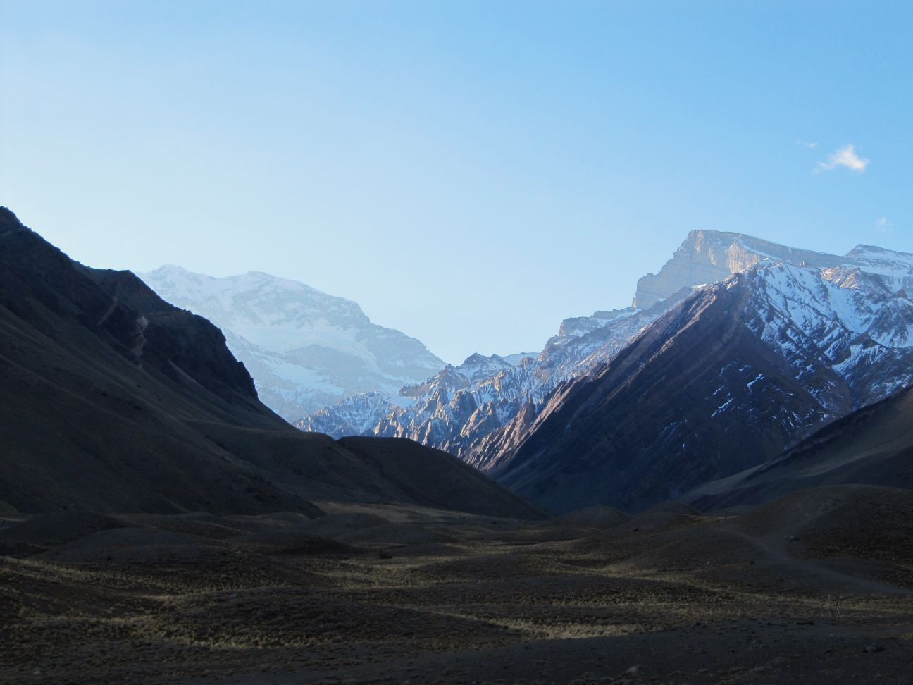 Aconcagua, highest elevation in South America